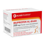 Produktbild Ibuprofen AL direkt 200 mg Pulver zum Einnehmen