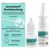 Produktbild Levocamed Kombi 0,5 mg / ml AT + 0,5 mg / ml Nasenspray