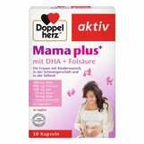 Produktbild Doppelherz Mama plus mit DHA + Folsäure Kapseln