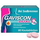 Produktbild Gaviscon Dual 250mg / 106,5mg / 187,5mg Kautabletten