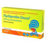 Produktbild Flurbiprofen Dexcel 8,75 mg Lutschtabletten