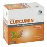 Produktbild Curcumin 500 mg 95% Curcuminoide + Piperin Kapseln