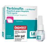 Produktbild Terbinafin-1A Pharma Nagell.g.Nagelpilz 78,22mg / ml