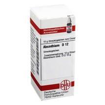 Produktbild Absinthium D 12 Globuli