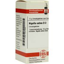 Produktbild Nigella Sativa D 3 Globuli