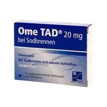 Produktbild Ome TAD 20 mg b.Sodbrennen Hartkapseln magensaftresistent