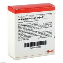 Produktbild Acidum nitricum Injeel Ampullen