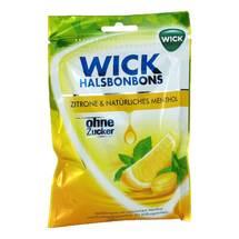 Produktbild WICK Zitrone & natürliches Menthol Bonbons ohne Zucker