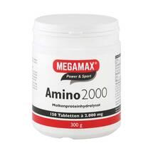 Amino 2000 Megamax Tabletten Erfahrungen teilen