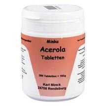 Produktbild Acerola Vitamin C Tabletten