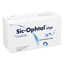 Sic Ophtal sine Augentropfen Augentropfen Erfahrungen teilen