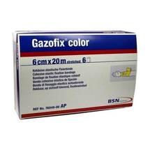 Gazofix color Fixierbinde ge