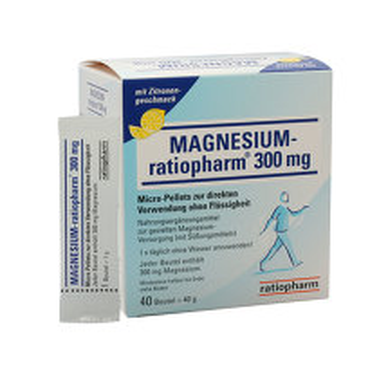 Produktbild Magnesium Ratiopharm 300 mg Micro Pell.mit Granulat