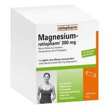 Magnesium Ratiopharm 300 mg Micro Pell.mit Granulat Erfahrungen teilen
