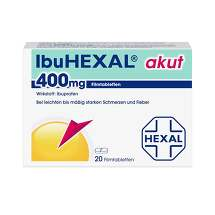 Produktbild Ibuhexal akut 400 Filmtabletten
