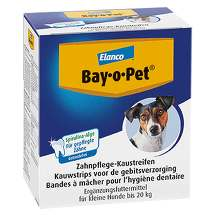 Produktbild Bay O PET Zahnpflaster Kaustreifen für kleine Hunde