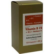 Produktbild Vitamin B12 + B6 + Folsäure Komplex N Kapseln