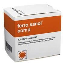Ferro Sanol comp. Hartkapseln mit magensaftresistent überzogene Pellets