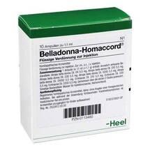 Produktbild Belladonna Homaccord Ampullen
