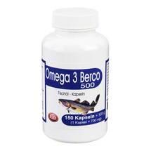 Produktbild Omega 3 Berco 500 Kapseln