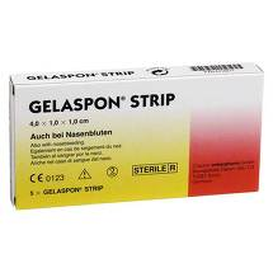 Gelaspon Strip 4x1x1 cm Stre