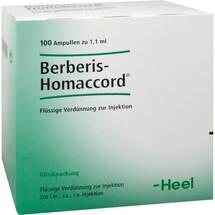 Produktbild Berberis Homaccord Ampullen