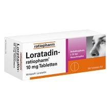 Produktbild Loratadin ratiopharm 10 mg Tabletten