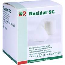 Produktbild Rosidal SC Kompressionsbinde weich 10cmx2,5m