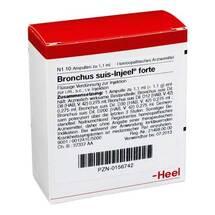Produktbild Bronchus suis Injeel forte Ampullen