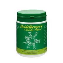 Produktbild Heidelbergers 7 Kräuter Stern Pulver