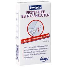 Produktbild Kwizda Erste Hilfe bei Nasenbluten Nasenstöpsel
