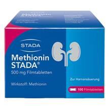 Produktbild Methionin STADA 500 mg Filmtabletten