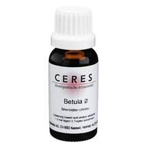 Produktbild CERES Betula folium Urtinktur