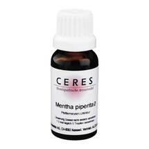 Produktbild CERES Mentha piperita Urtinktur