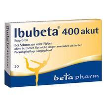 Produktbild Ibubeta 400 akut Filmtabletten