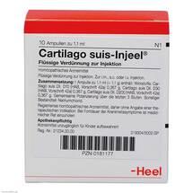 Produktbild Cartilago suis Injeel forte Ampullen