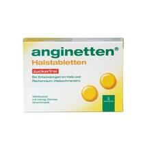 Produktbild Anginetten Halstabletten zuckerfrei