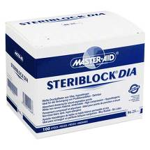 Steriblock Dialyse-Pflaster 86x25mm Master Aid
