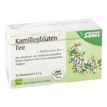 Produktbild Kamillenblüten Tee Bio Matricariae flos Salus
