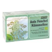 Produktbild Anis Fenchel Kümmel Tee Salus Filterbeutel