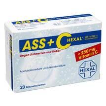 ASS + C Hexal gegen Schmerzen+Fieber Brausetabletten