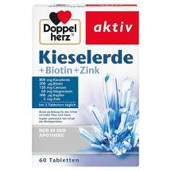 Doppelherz Kieselerde+Biotin+Zink Tabletten