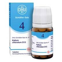 Biochemie DHU 4 Kalium chloratum D 12 Tabletten
