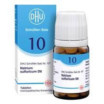 Produktbild Biochemie DHU 10 Natrium sulfuricum D 6 Tabletten