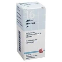 Produktbild Biochemie DHU 16 Lithium chloratum D 6 Tabletten