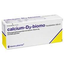 Calcium D3 biomo Kautabletten 500 + D