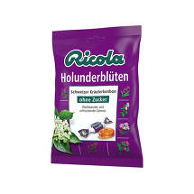 Produktbild Ricola ohne Zucker Holunderblüten Bonbons