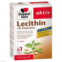 Produktbild Doppelherz Lecithin+B-Vitamine Kapseln