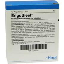 Produktbild Erigotheel Ampullen
