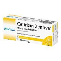 Produktbild Cetirizin Zentiva 10 mg Filmtabletten